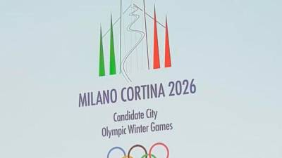 Logotip Milana in Cortine (ANSA)